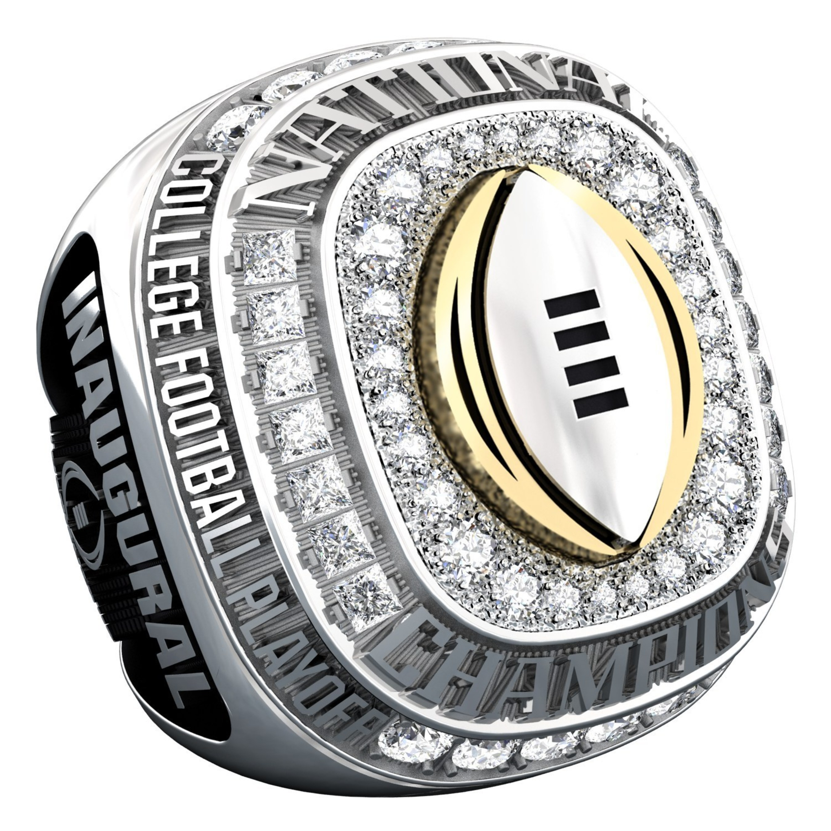 jostens collaborates playoff rings championship college national ring inaugural state releases to texas football news with present