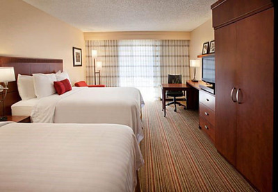 "The Courtyard Las Vegas Convention Center is offering a deal that will strike a chord with '80s music fans and be a real crowd-pleaser. The Rock of Ages Package affords guests overnight accommodations at rates from $124 to $234 per night inclusive of breakfast for two and discount tickets to The Strip's hottest new show ""Rock of Ages.""  For information, visit www.marriott.com/LASCH or call 1-702-791-3600.  (PRNewsFoto/Courtyard Las Vegas Convention Center)"