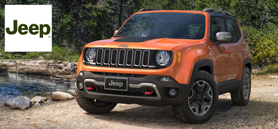 The new 2015 Jeep Renegade is expected to be a big hit with shoppers at Palmen Motors in Kenosha, Wis.  (PRNewsFoto/Palmen Motors)