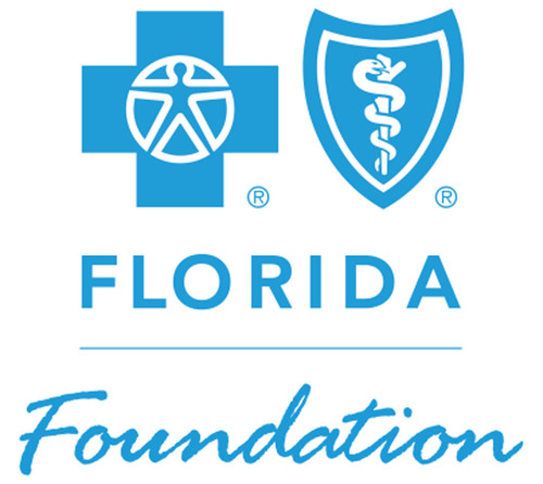 Blue Shield of Florida Foundation logo.  (PRNewsFoto/Blue Cross and Blue Shield of Florida Foundation)