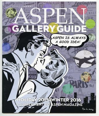 King of Pop Art Aspen Magazine cover, Nelson De La Nuez, Gallery 1949