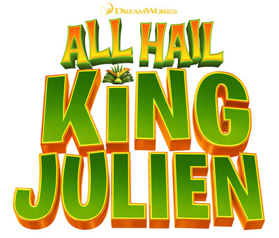 DreamWorks Animation ALL HAIL KING JULIEN logo