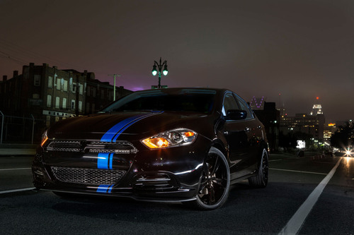 Chrysler Group LLC introduces limited-edition Mopar '13 Dart. Mopar is the company's service, parts and customer-care brand.  (PRNewsFoto/Chrysler Group LLC)