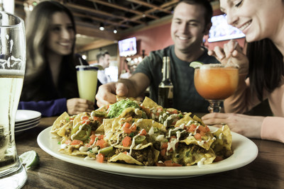 On The Border Mexican Grill & Cantina(R) is celebrating Labor Day with half-off Margaritas and Nachos.