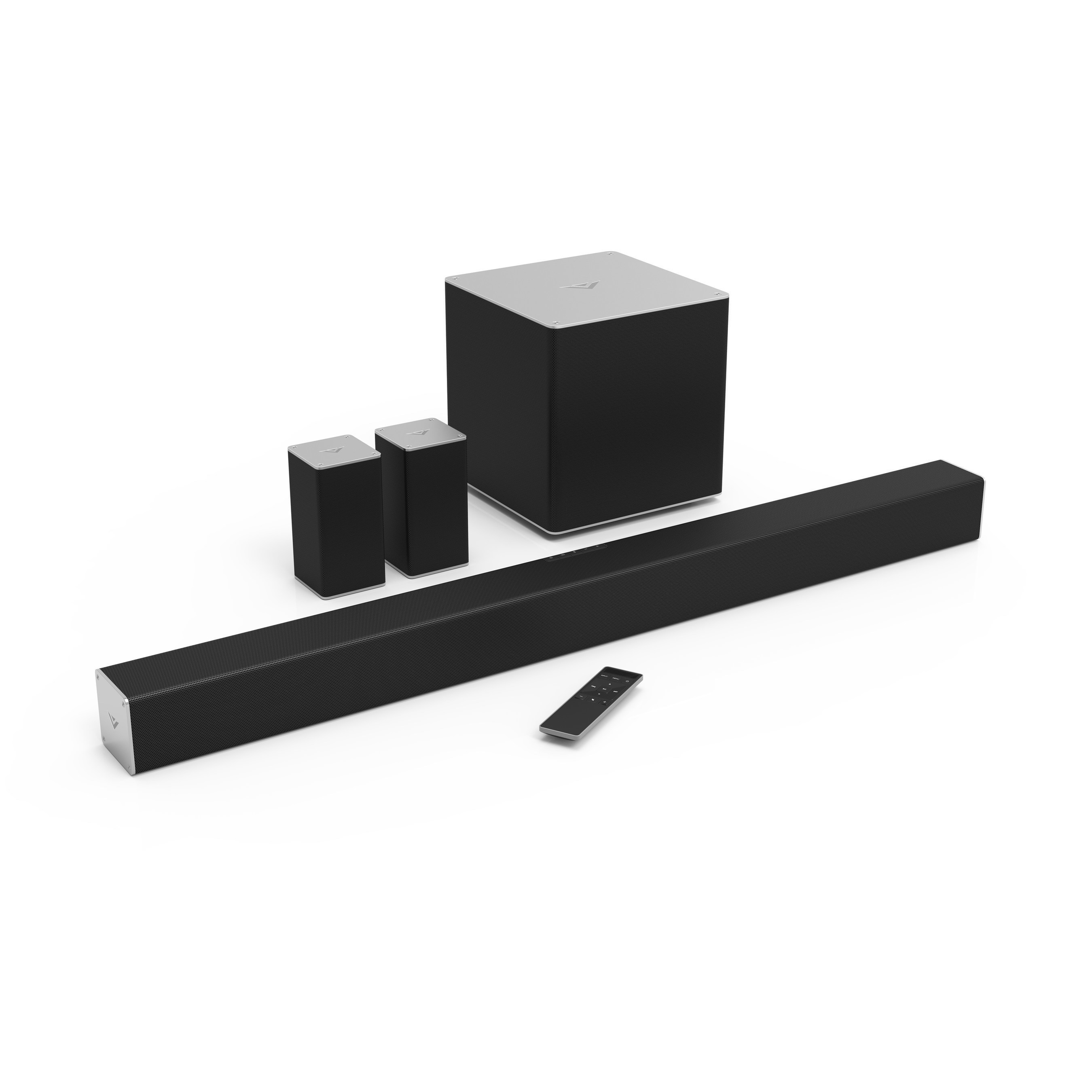 """Highlighted by the 40"""" 5.1 Sound Bar System, the Line-Up Boasts Exceptional Audio Performance for Any Home Theater and the Convenience of Seamless Bluetooth Streaming"""