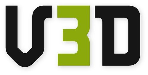V3D Logo (PRNewsFoto/V3D)