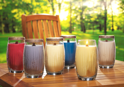 Six New Pure Radiance(TM) by Yankee Candle(R) Spring Fragances.  (PRNewsFoto/The Yankee Candle Company, Inc.)