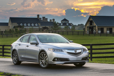 2016 Acura TLX - Hot-Selling Luxury Sports Sedan Returns with Unique Blend of Athleticism and Premium Luxury Refinement