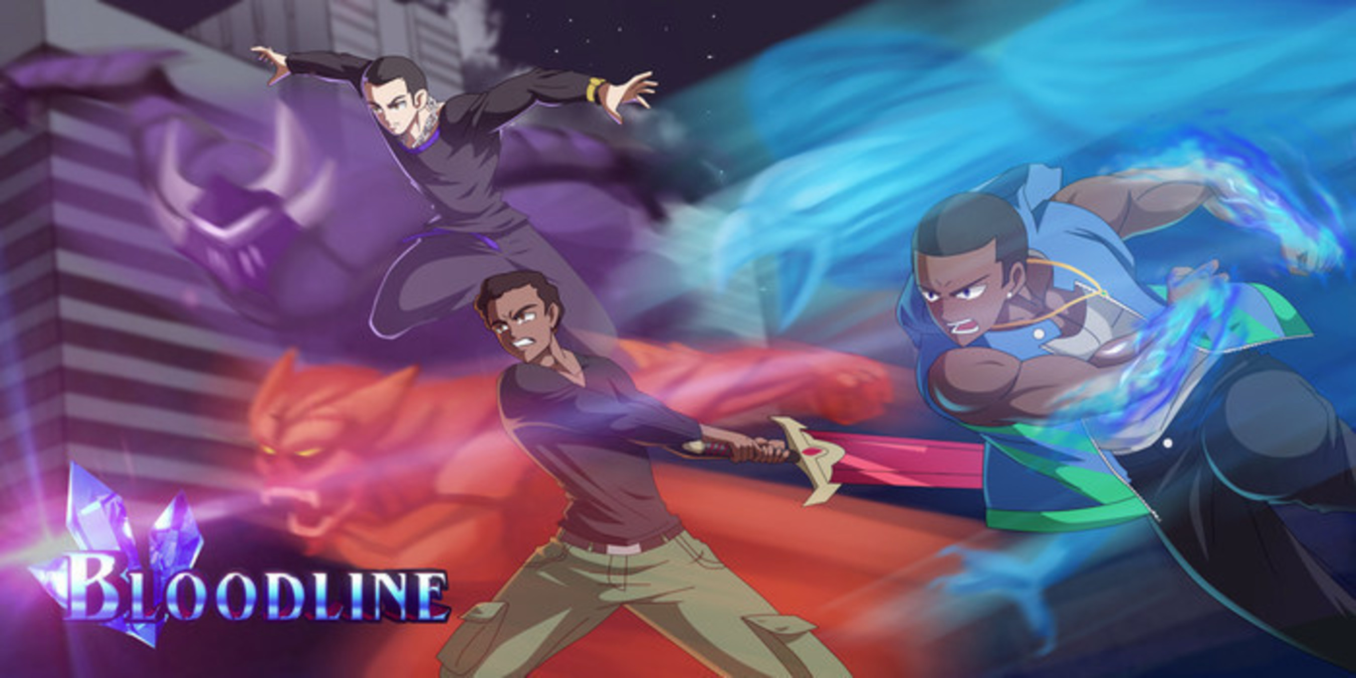 Anime Enthusiast Alphonso Blackwood Brings His Latest Animated Adventure to Kickstarter