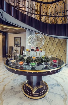 A caviar-on-demand menu is also included in the brunch (PRNewsFoto/The St. Regis Abu Dhabi)