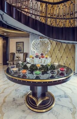 A caviar-on-demand menu is also included in the brunch (PRNewsFoto/The St. Regis Abu Dhabi)