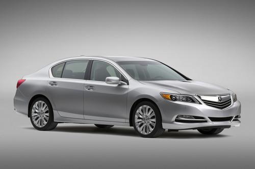 Acura estrena el sedán RLX de 2014 en la exposición de Automóviles de Los Ángeles