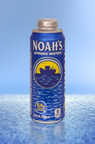 Noah's Spring Water brings environmentally-friendly, re-sealable aluminum package to consumers with launch in Rexam's 24 oz. Cap Can.
