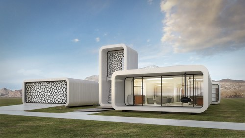 World's first 3D printed office set to come up in Dubai (PRNewsFoto/Museum of the Future) (PRNewsFoto/Museum of the Future)