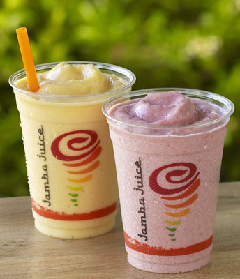 "Jamba Juice is encouraging fans to Blend in the Good(TM), not just in smoothies and juices, but also in each day, each moment, and each opportunity by incorporating healthy and active fun into their daily lives with the launch of its ""Healthy Habits Kickstart"" Sweepstakes. Jamba Juice is partnering with Hawaiian Airlines and Nintendo to offer exciting prize packages that reward its customers for maintaining health and fitness goals in 2014. Fans can enter to win and learn more at www.jambajuicegame.com.  (PRNewsFoto/Jamba Juice Company)"
