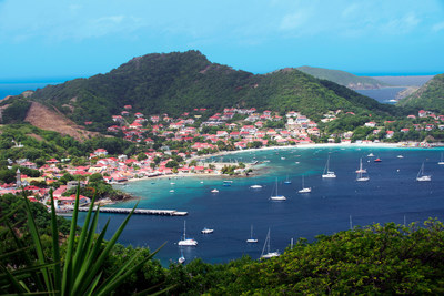 Bay of Les Saintes in the Guadeloupe Islands