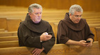 (L-R) Brother Richard McFeely, OFM and Brother Bob Frazzetta, OFM.  (PRNewsFoto/Holy Name Province)