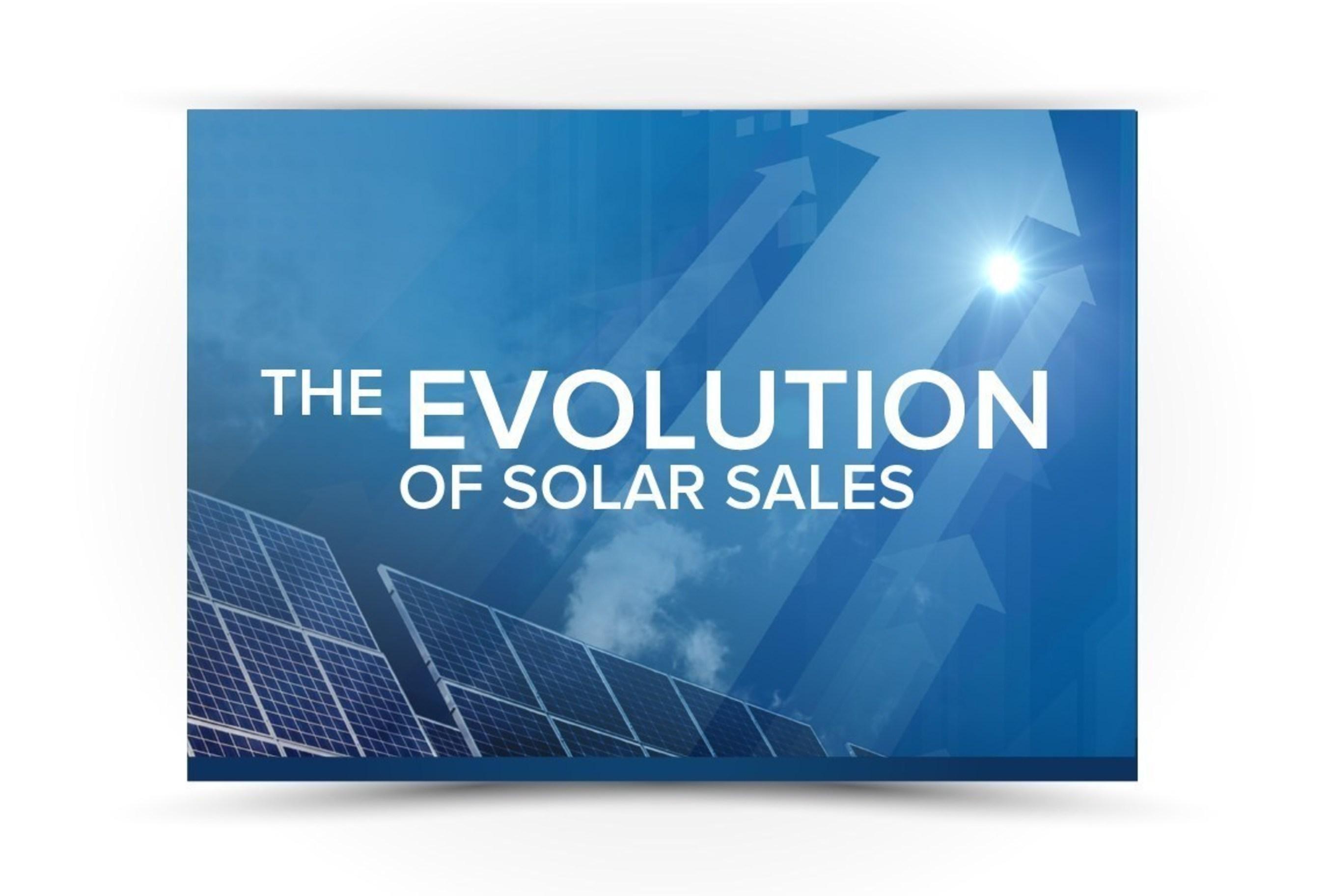 The Evolution of Solar Sales