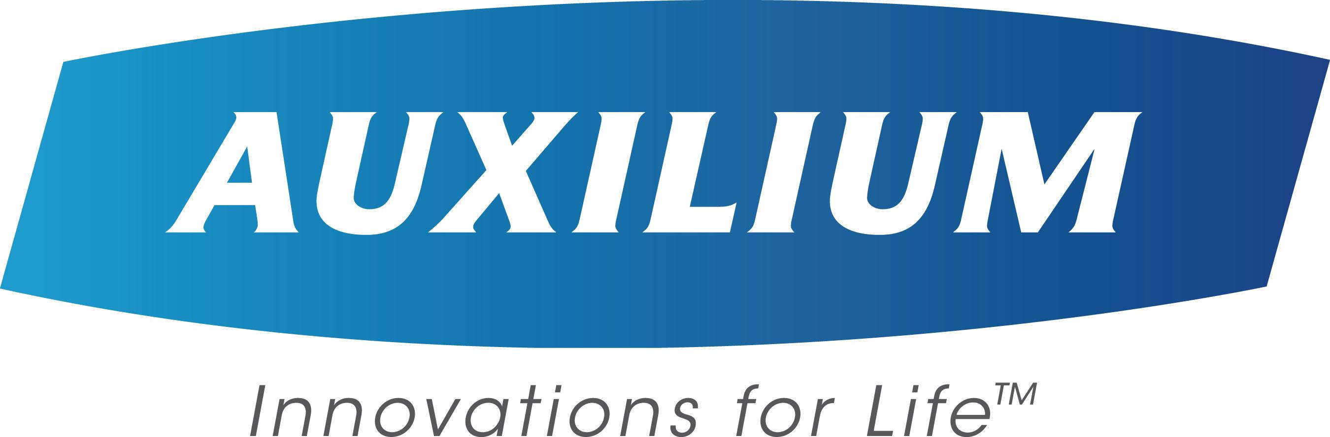 Auxilium Pharmaceuticals, Inc. Logo. (PRNewsFoto/Auxilium Pharmaceuticals, Inc.) (PRNewsFoto/)