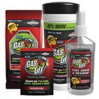 Briggs & Stratton introduces Gas Off(TM) by Briggs & Stratton, a plant-based solution for removing gasoline and diesel odor and residue.