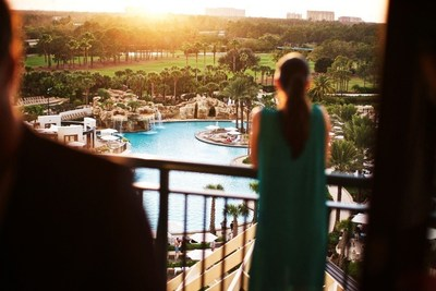 Orlando World Center Marriott entices lovers with the Mickey-Free Rendezvous Package on Feb. 13-15, 2015, featuring accommodations, couples massages, dinner, champagne and more. For information, visit www.WorldCenterMarriott.com or call 1-800-380-7931.