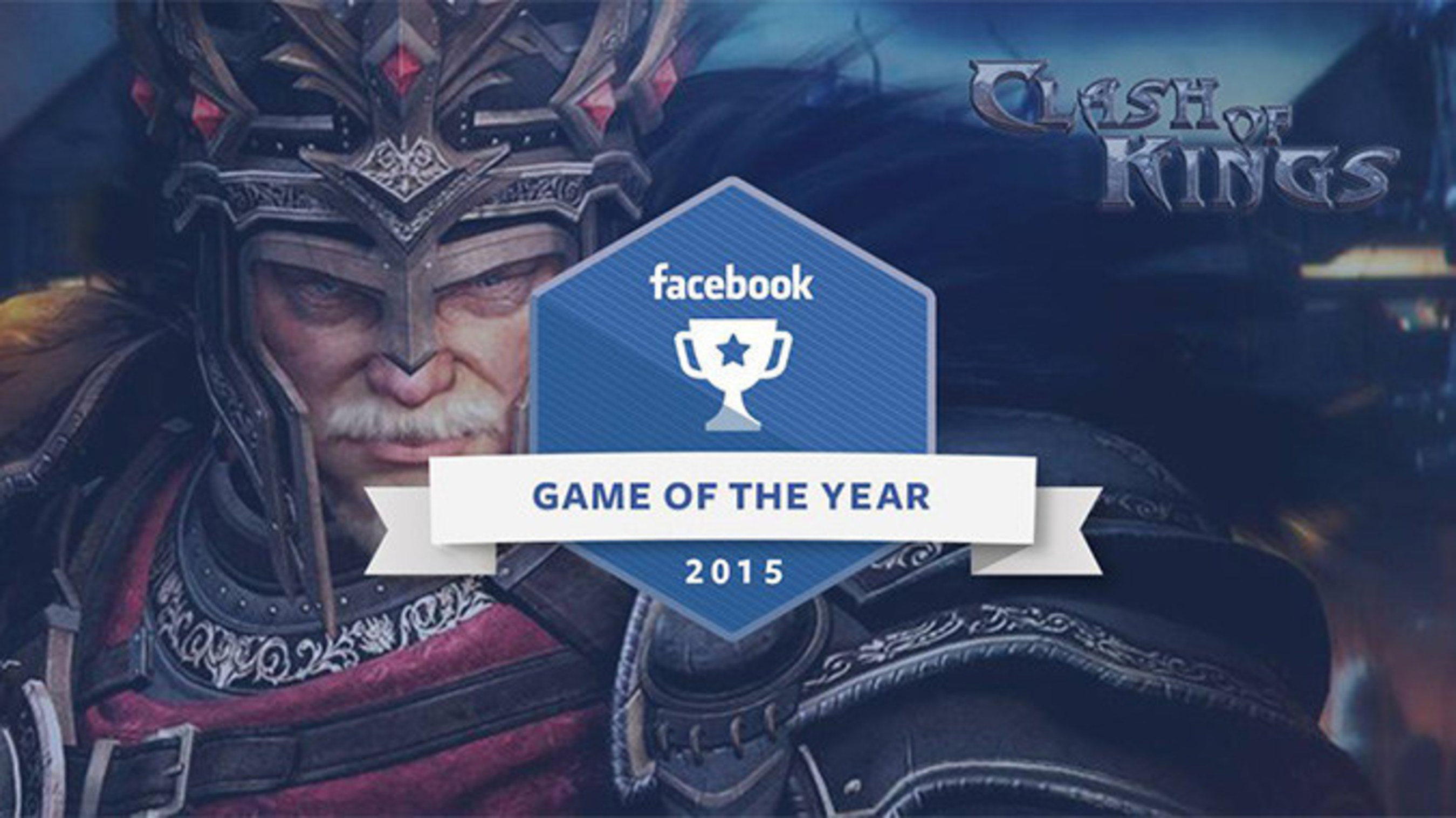 Facebook désigne Clash of Kings Jeu de l'année 2015