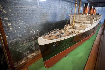 Original Bassett-Lowke shipbuilder's model of the Queen Mary