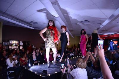 TCP Holds Crazy Fashion Show to Benefit American Heart Association. (PRNewsFoto/TCP) (PRNewsFoto/TCP)
