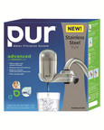 PUR NEW Advanced Faucet Water Filter - Stainless Steel Style.  (PRNewsFoto/PUR Water Filtration)