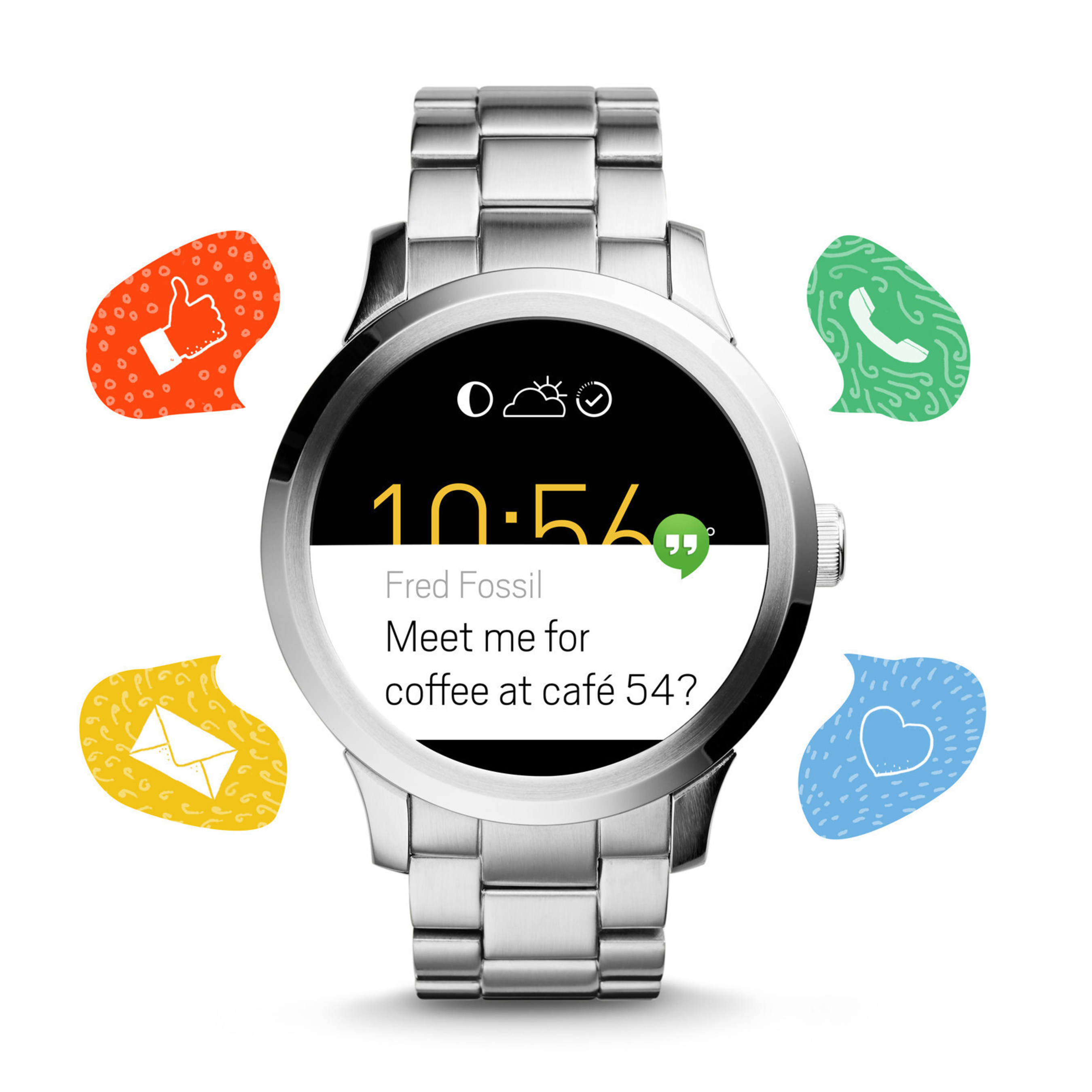 Fossil's First Touchscreen Watch Powered by Android Wear on Sale This Week