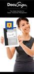Stop Chasing Paper. Just DocuSign It. (PRNewsFoto/DocuSign, Inc.)