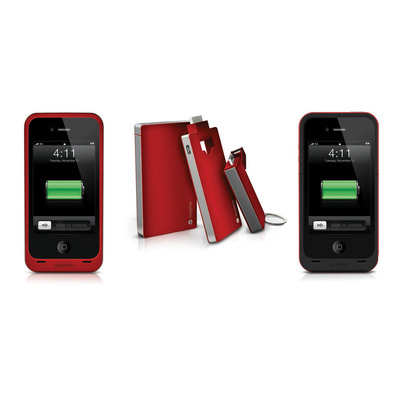 mophie (RED)EFINES Portable Power by Joining Forces with (RED)(TM).  (PRNewsFoto/mophie)