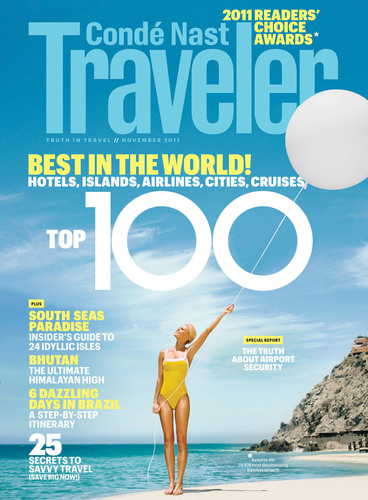 Conde Nast Traveler Announces the Winners of Its 24th Annual Readers' Choice Awards.  (PRNewsFoto/Conde Nast Traveler)