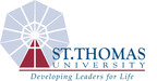 St. Thomas University logo.