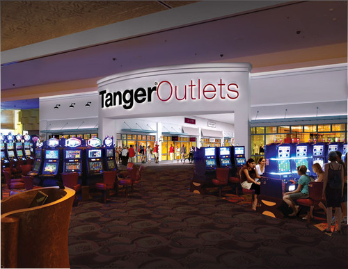 Tanger Outlets at Foxwoods.  (PRNewsFoto/Tanger Factory Outlet Centers, Inc.)