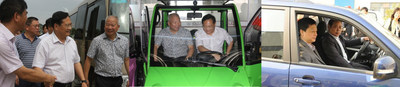 ZAP and Jonway Auto Receives Endorsement And Recognition from Zhejiang Mayor and Party Secretaries As One of the Key Emerging EV Companies in China (PRNewsFoto/ZAP and Jonway Auto)