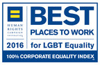 """Boston Scientific named one  of the """"Best Places to Work"""" based on ratings in Human Rights Campaign's 2016 Corporate Equality Index http://www.hrc.org/cei."""