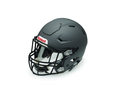 The new Riddell SpeedFlex reduces impact force transfer to the athlete by selectively adding flexibility to key helmet components. The latest offering from the world's leading helmet manufacturer also boasts improved sightlines, a new ratchet-style chinstrap attachment system and a cool, modern design for unparalleled performance. (PRNewsFoto/Riddell)