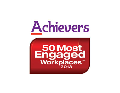 Achievers 50 Most Engaged Workplaces announced! (PRNewsFoto/Achievers) (PRNewsFoto/ACHIEVERS)