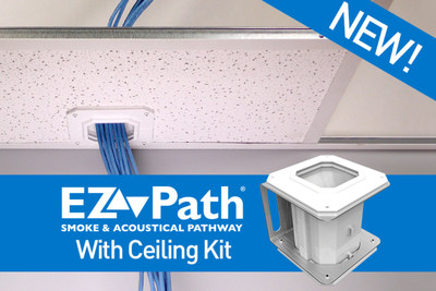 Seal Your Ceilings with EZ-Path(R) Smoke & Acoustical Pathways