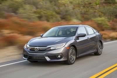 Hispanic Motor Press Names Honda Civic 'Best Compact Sedan' and Honda Pilot 'Best SUV' of 2016