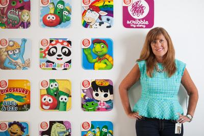 Nancy MacIntyre, CEO & Co-Founder of Fingerprint (PRNewsFoto/Fingerprint, Inc.)
