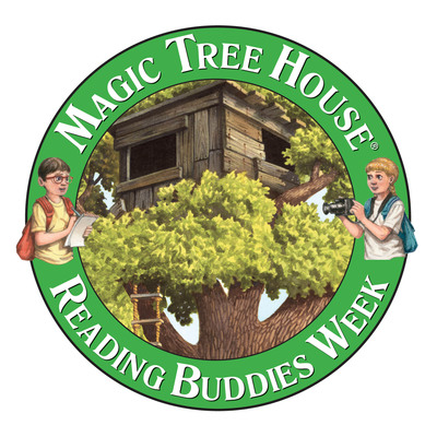 Reading Buddies Week is a celebration of reading, inspired by the Magic Tree House books and Mary Pope Osborne's commitment to supporting children's reading efforts. Visit MagicTreeHouse.com for more information about how children and families can get involved!  (PRNewsFoto/Random House Children's Books)