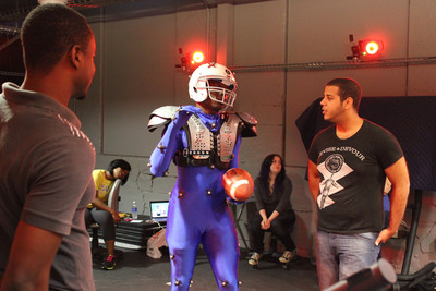 SCAD students animate Cleatus the Robot for the opener of Super Bowl XLVIII.