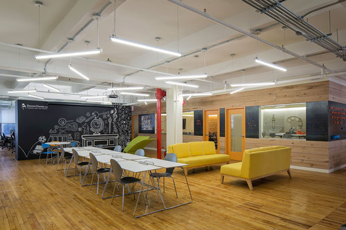 Eight Inc. designs the new DonorsChoose.org headquarters in New York City.  (PRNewsFoto/Eight Inc.)