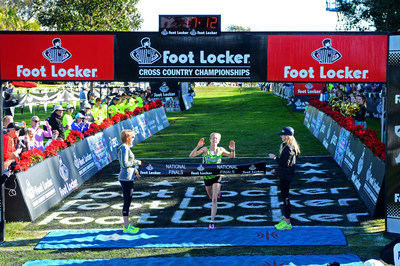 2012 Foot Locker National Champion Anna Rohrer, from Mishawaka, Ind., once again captured the first place title at the 36th Annual Foot Locker Cross Country Championships National Finals (FLCCC) at Morley Field, Balboa Park in San Diego, Calif., today in 17:13.