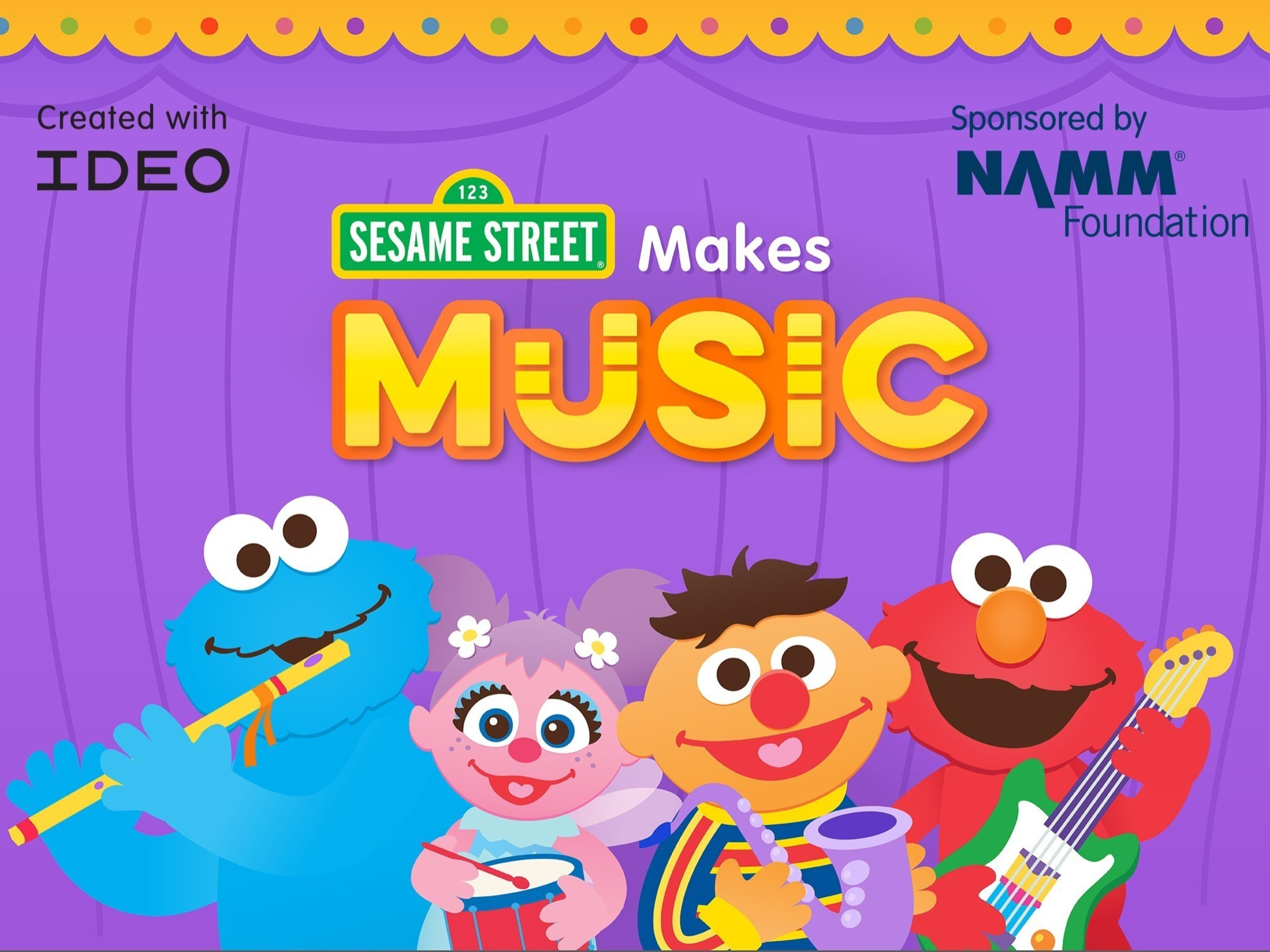 Sesame Street And The NAMM Foundation Invite Kids To Make Music With New App