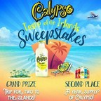 Calypso Lemonades Taste of the Islands Sweepstakes.  Win a Trip for Two to the Islands or a Year Supply of Calypso Lemonades!