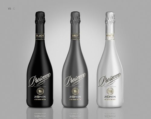 """Dress Your Feelings"": Zonin Launches Prosecco Black, Grey and White Editions (PRNewsFoto/Zonin 1821)"