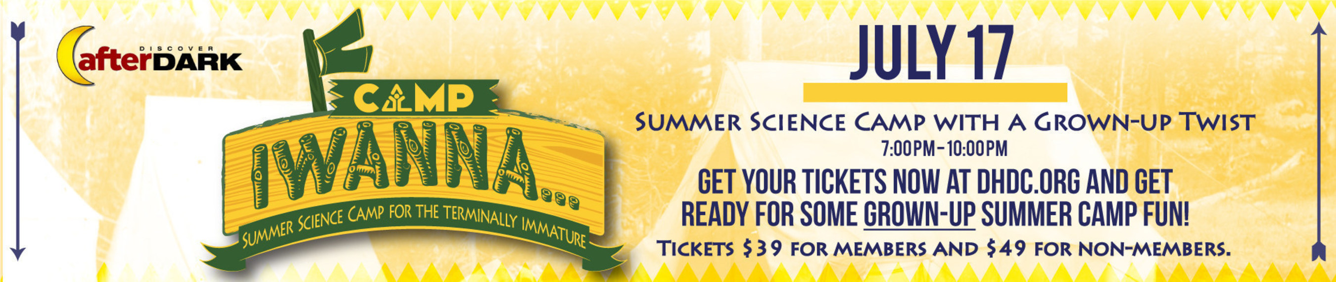Discovery Center Combines Summer Camp and Science for Adults at Next After Dark Event